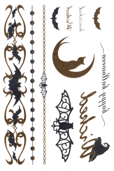 Halloween - Gold & Silver - Large