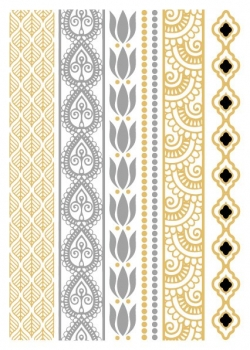 Greek - Gold & Silver - Large